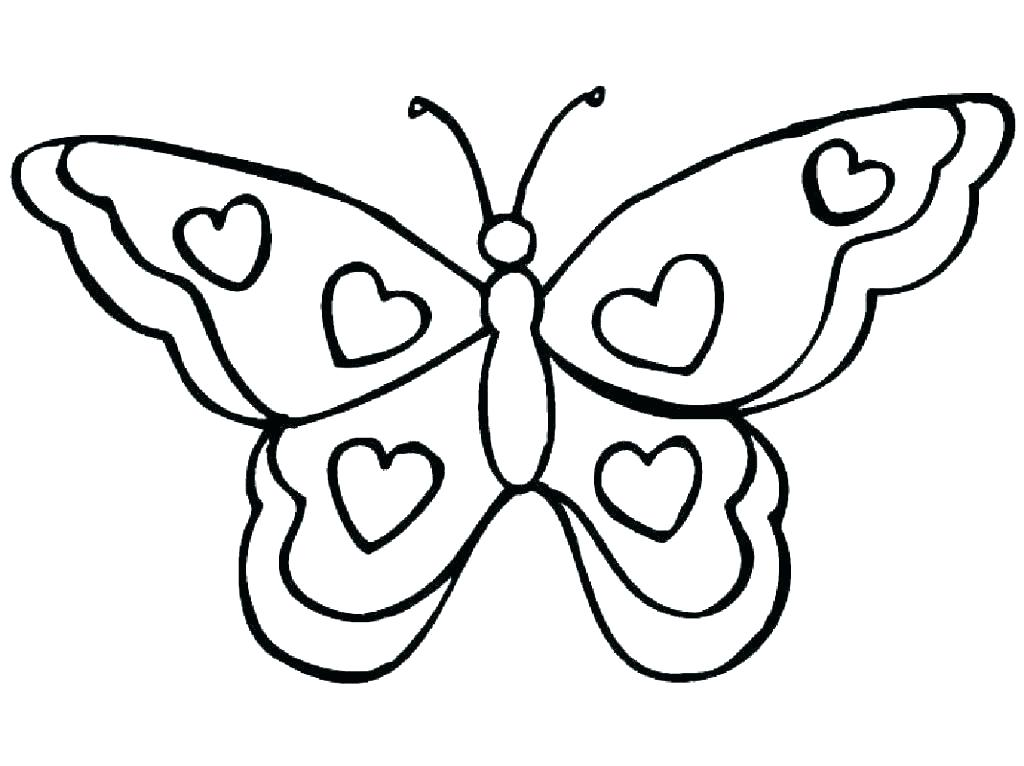 1024x766 Free Printable Coloring Pages Of Butterflies Billtab