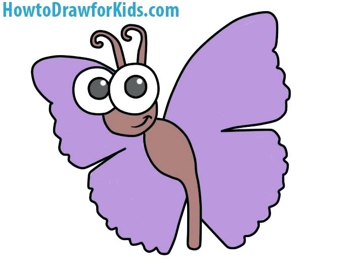 700x544 Drawing Of Butterfly Butterfly Drawing Images Step