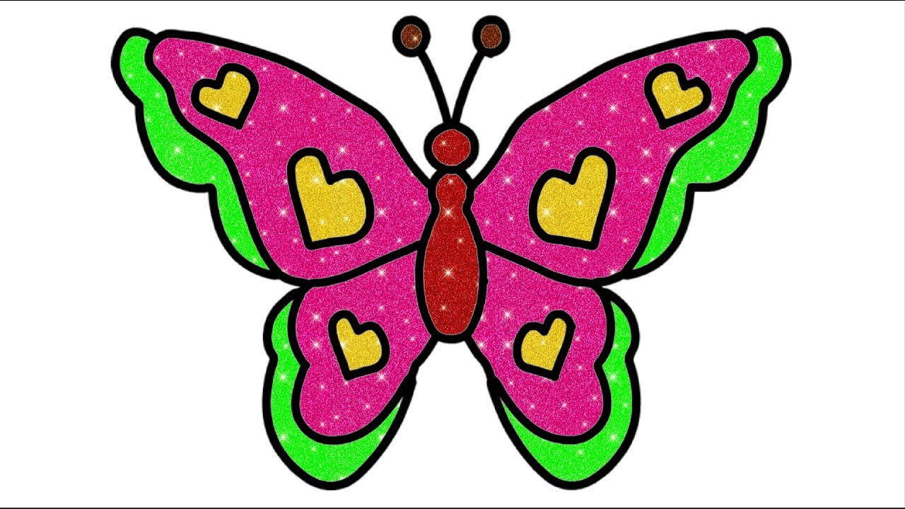 1280x720 How To Draw Butterfly Drawing Of Butterfly