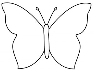 300x227 Huge Collection Of 'butterfly Drawing Simple' Download More Than