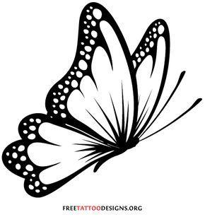 290x307 Butterfly Tattoo