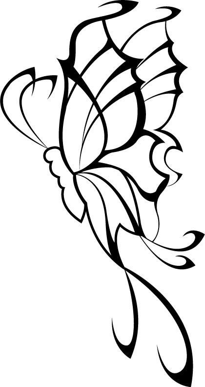 420x792 Tribal Butterfly Tattoo Designs Design Butterfly Tattoos Tattoos