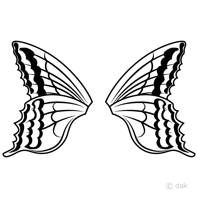 640x640 Butterfly Wings Clipart Free