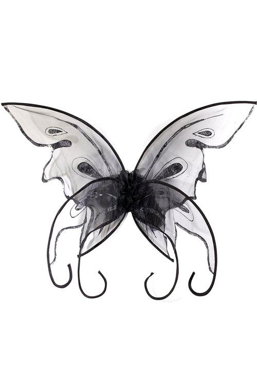 500x750 Black Butterfly Wings