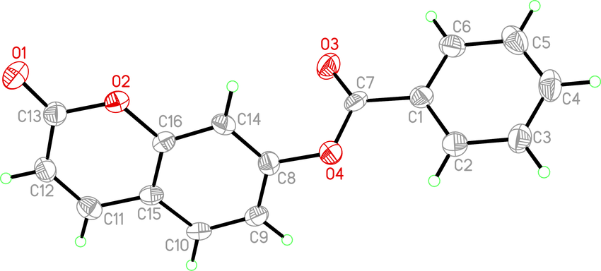 850x384 an ortep drawing of the title molecule with the atom numbering
