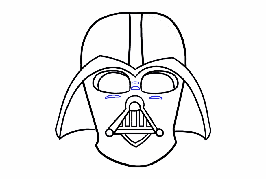 920x621 How To Draw Dart Vader