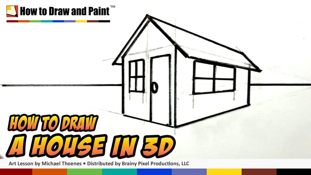 Cabin Drawing