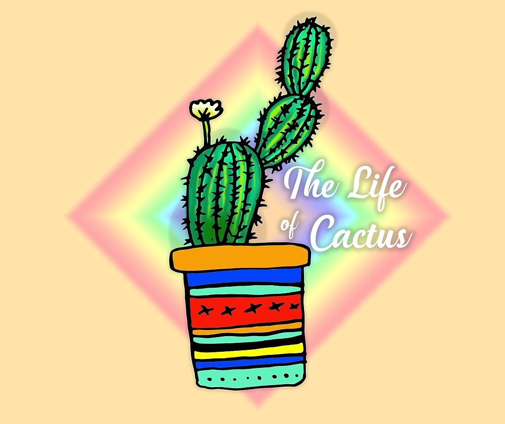 1000x840 Cactus Drawing