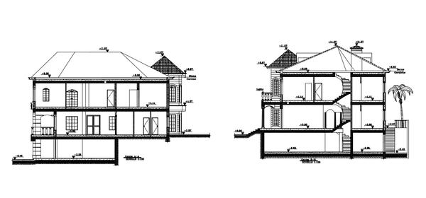 Cad Building Drawing | Free download best Cad Building