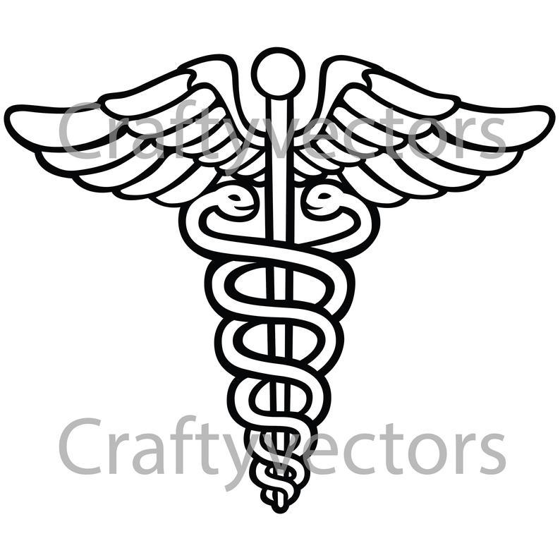 794x794 caduceus medical corps insignia vector etsy