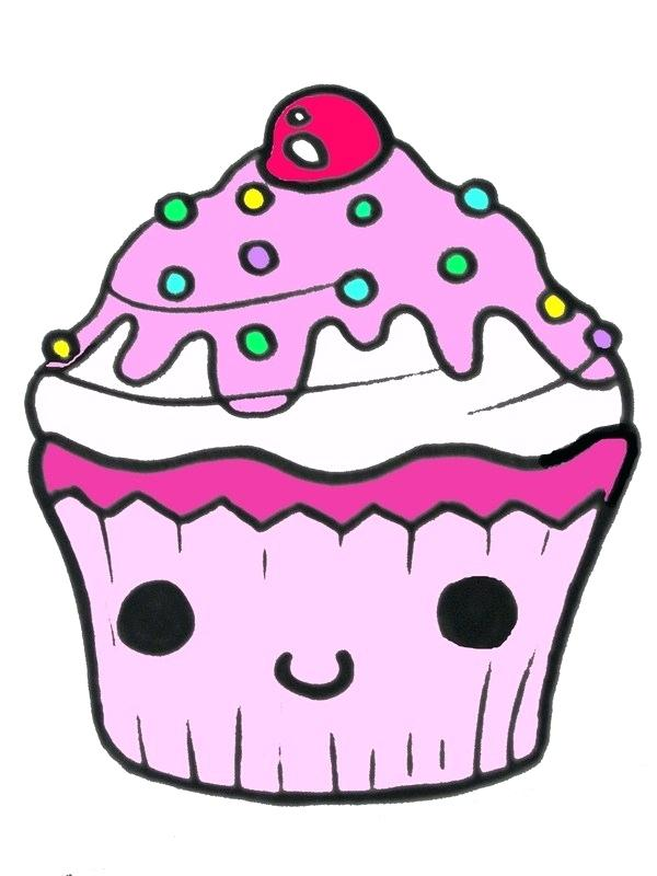 600x800 how to draw a cupcake cupcake line drawing draw cupcake
