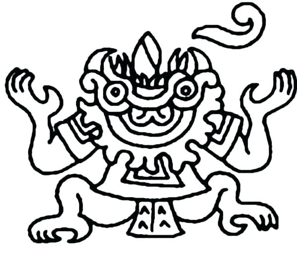 600x515 aztec coloring pages pattern coloring pages fresh lovely pattern