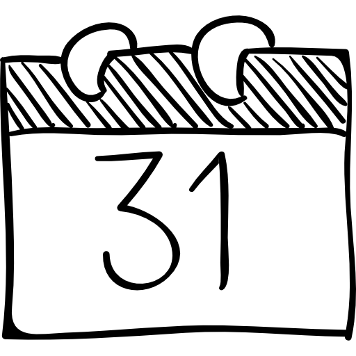 512x512 Sketch, Drawing, Calendar, Transparent Png Image Clipart Free