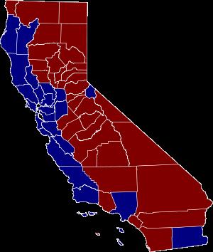 California Map Drawing