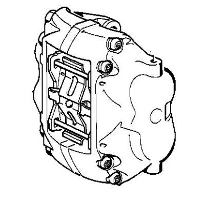 400x400 genuine bmw caliper