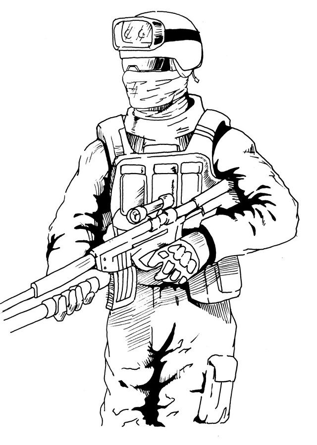 Call Of Duty Drawings | Free download on ClipArtMag