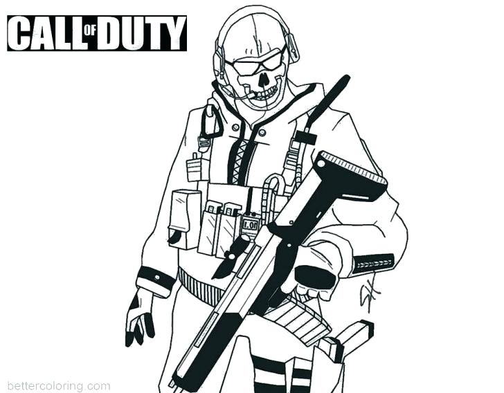 Call Of Duty Drawings Free Download On Clipartmag