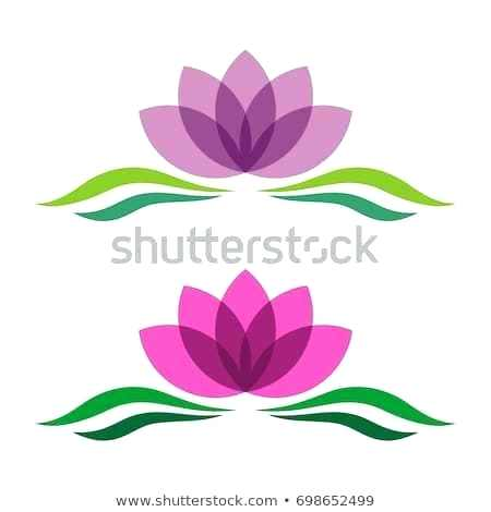 450x470 hand drawn lily flower logo design concept template hand drawn