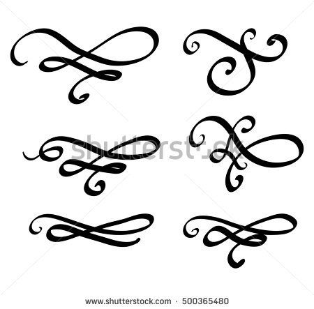 450x443 image result for calligraphy swirl my style calligraphy lines