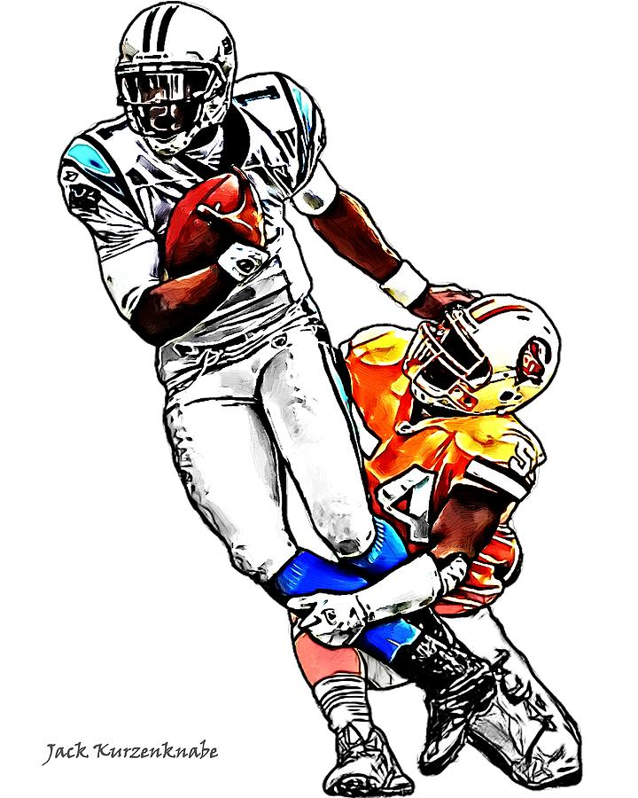 Cam Newton Drawing | Free download best Cam Newton Drawing ...