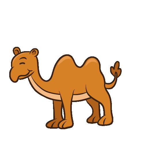Camel Drawing Outline
