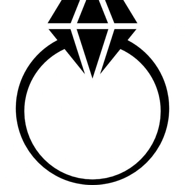 626x626 diamond ring free engagement ring clipart image diamond icons