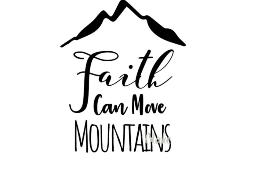 832x554 faith can move mountains christian faith
