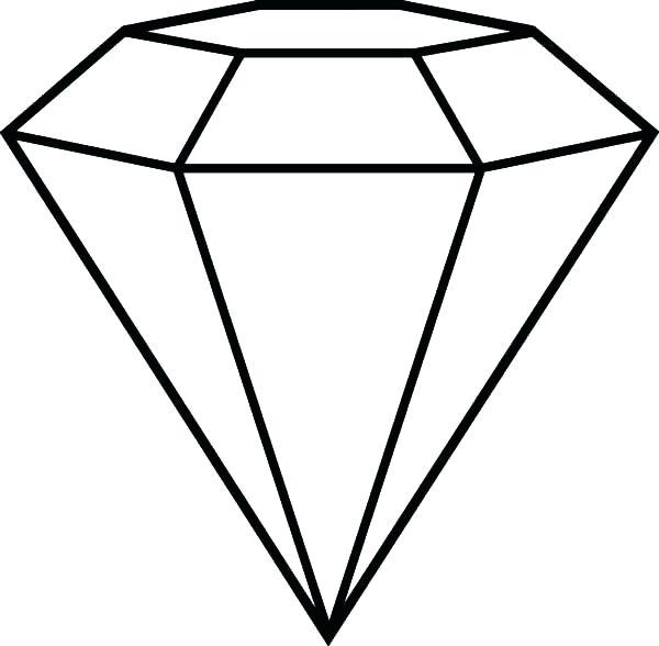 600x588 popular diamond shape cut coloring pages cameo popular diamond
