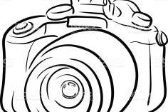 236x157 camera drawing outline movie easy film artist cctv autocad step