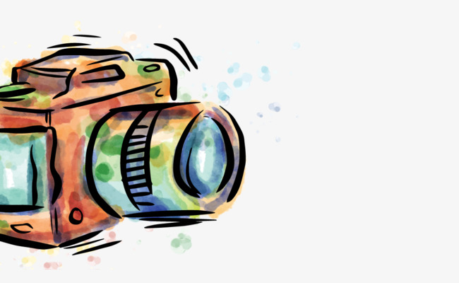 650x400 vector drawing camera, camera vector, hd, vector png and vector