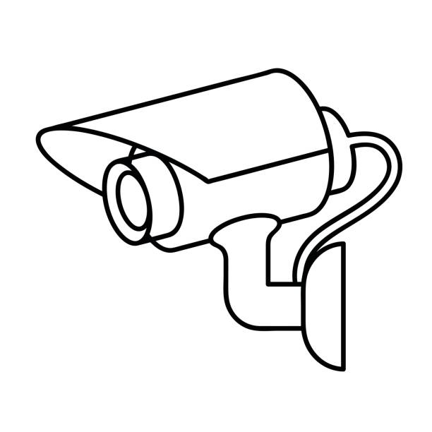 Collection of Cctv clipart | Free download best Cctv ...