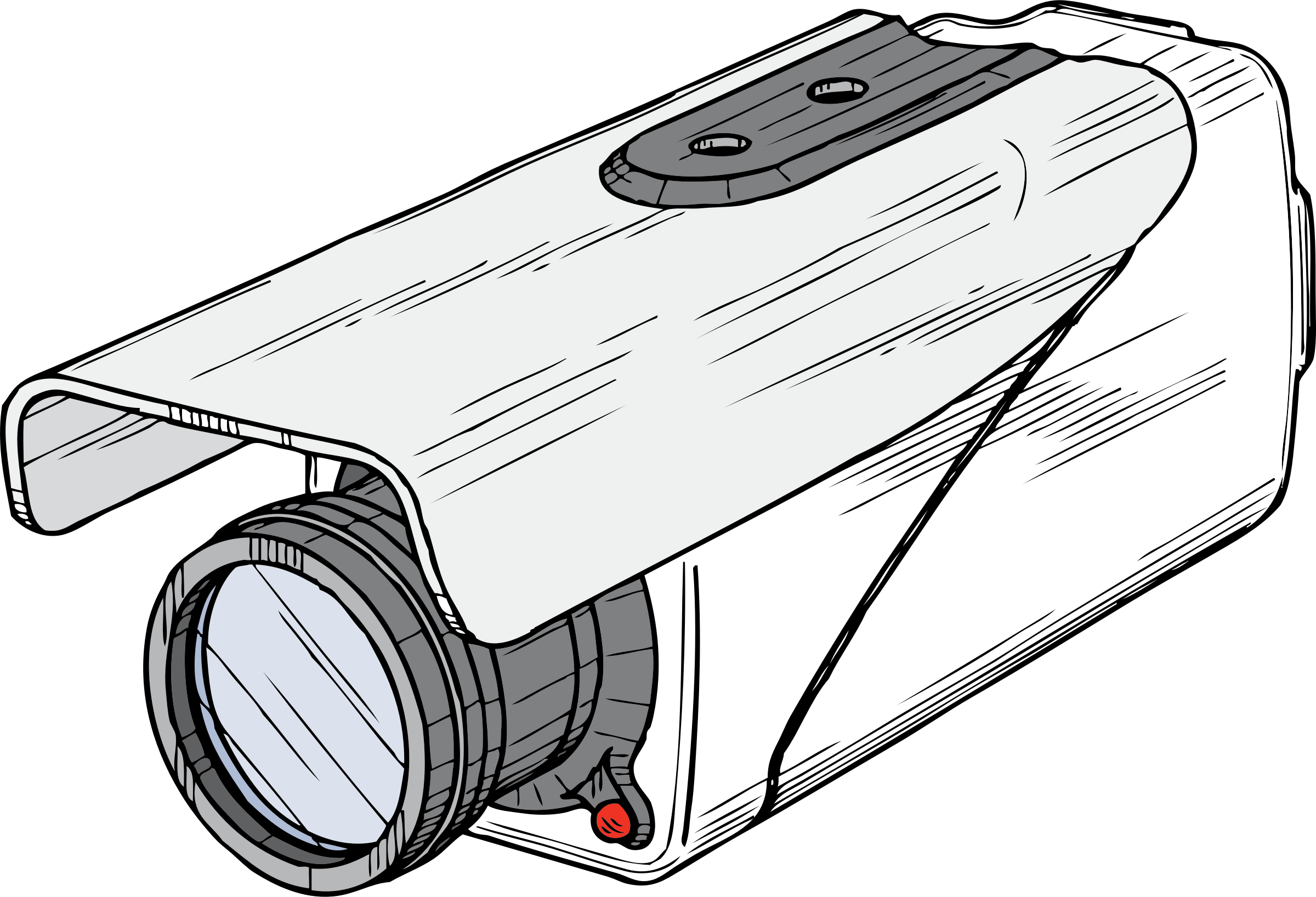 2400x1636 clipart surveillance camera huge freebie! download