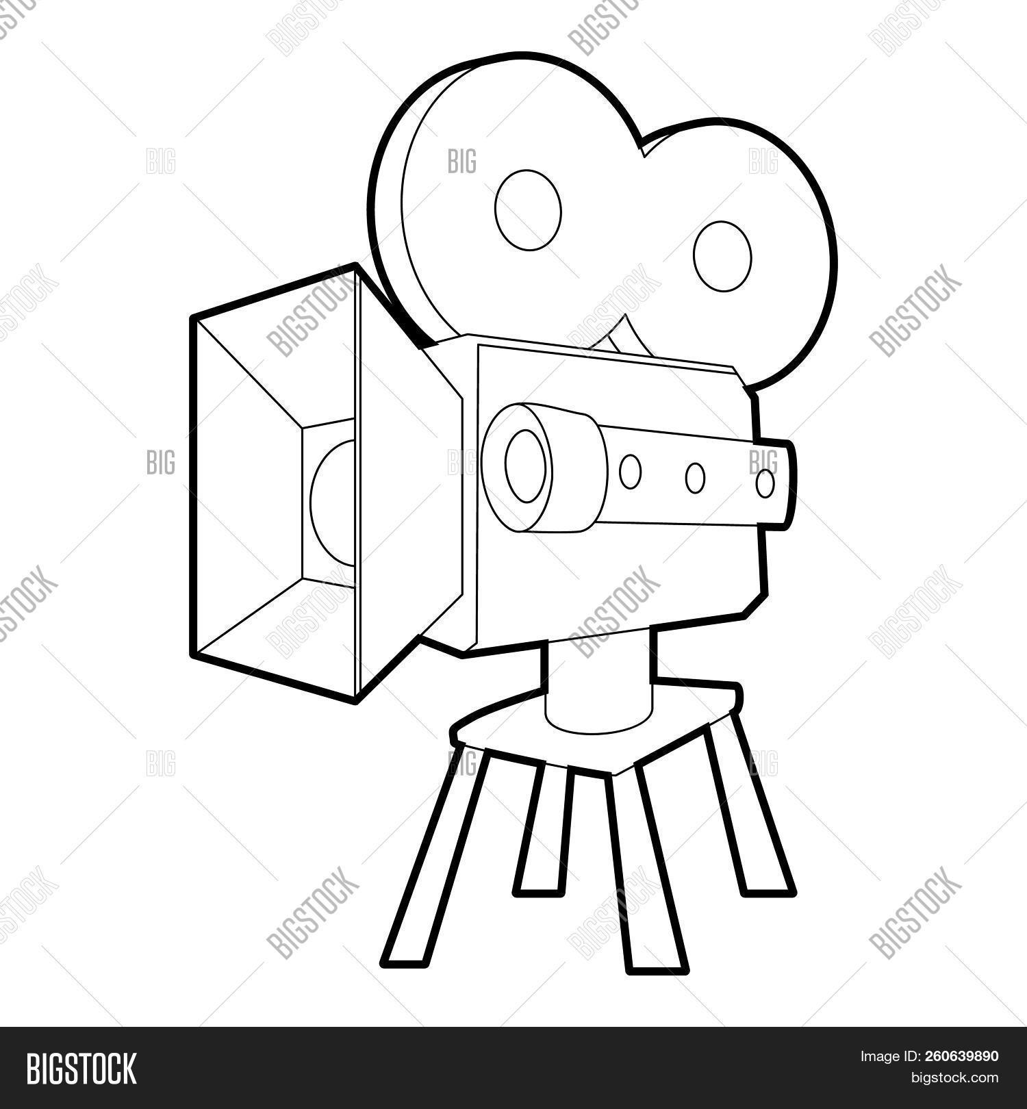 1500x1620 camera icon outline illustration of camera icon for web image