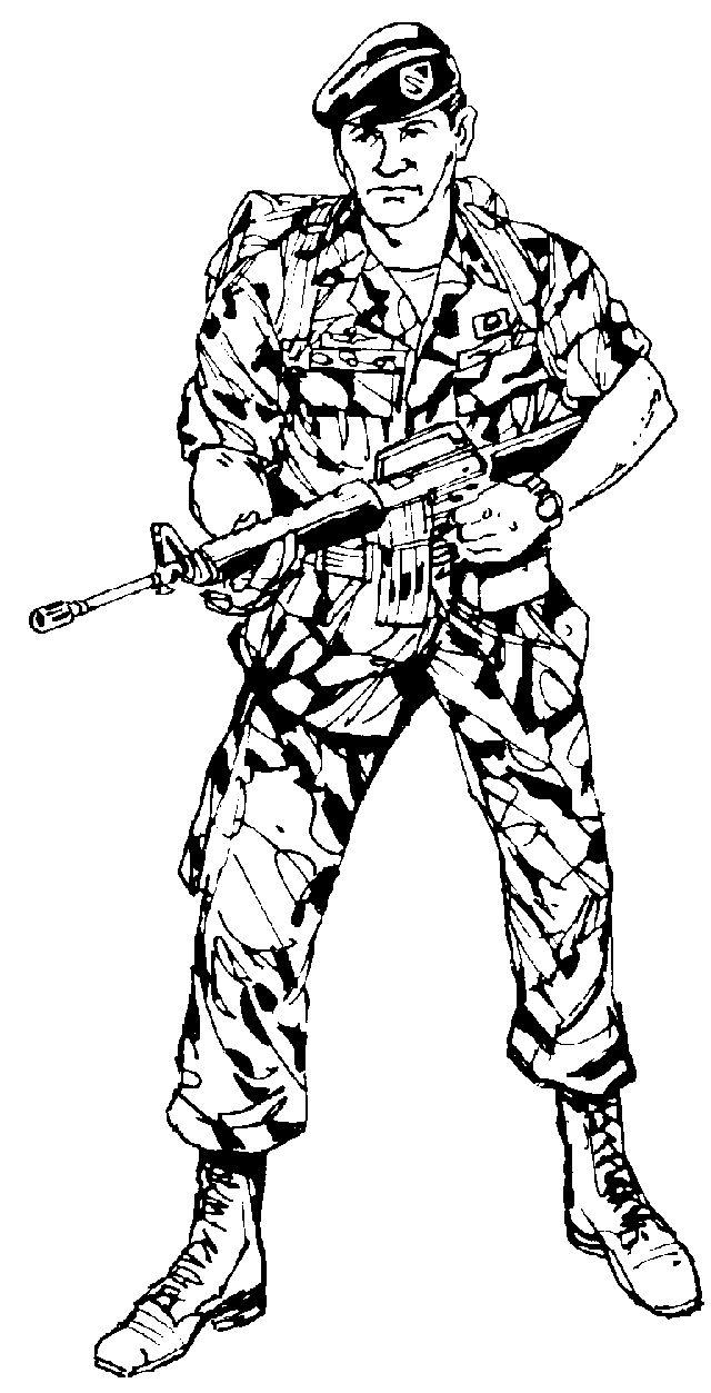640x1253 Camouflage Clipart Army Man
