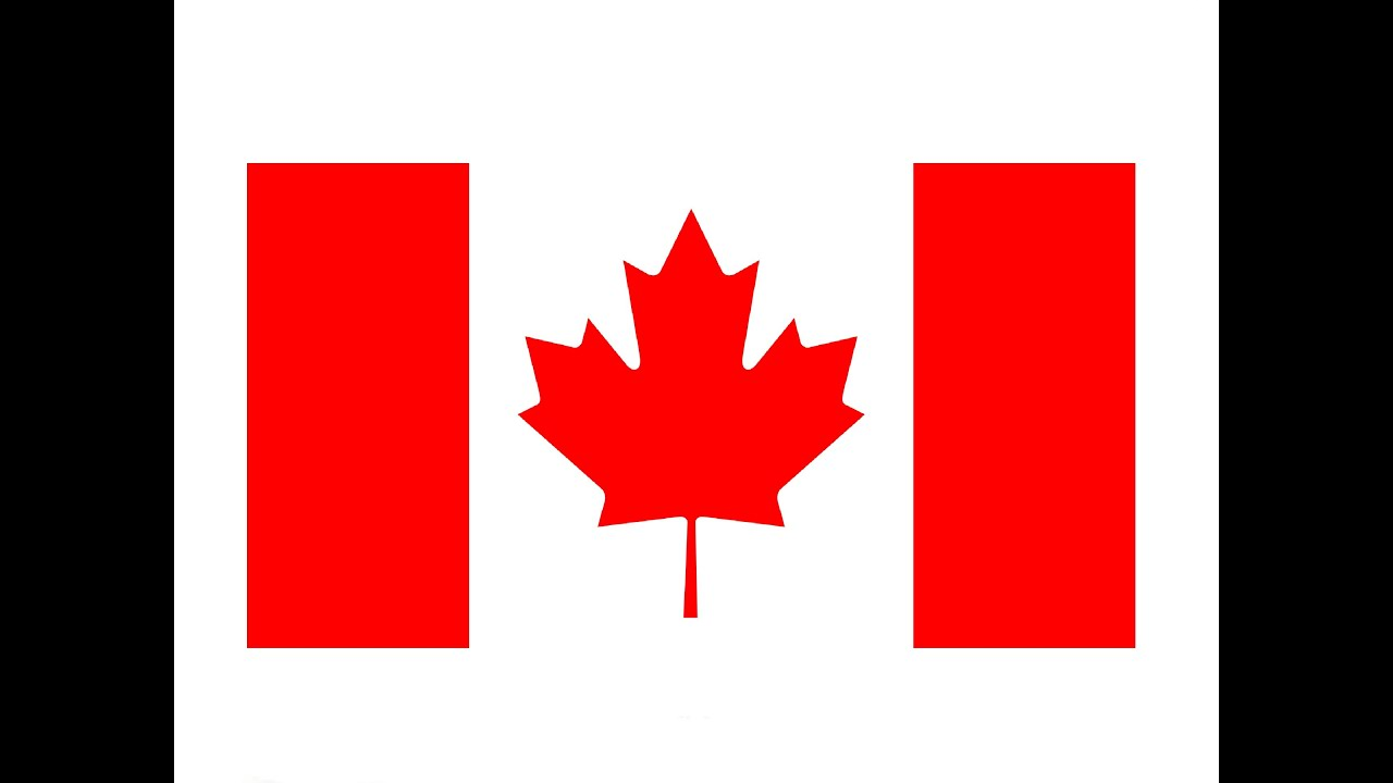 1280x720 How To Draw A Canadian Flag Kak Narisovat Flag Kanady