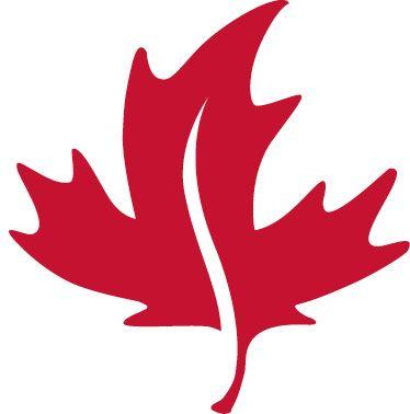 374x378 Red Canadian Leaf Logos