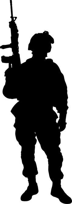 236x668 top soldier silhouette images soldier silhouette, soldiers
