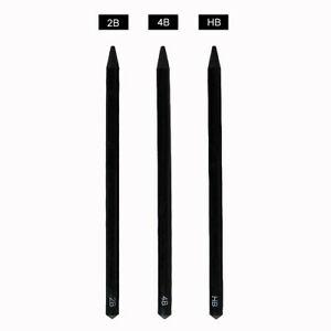 300x300 woodless pure carbon sketch pens charcoal pencil set
