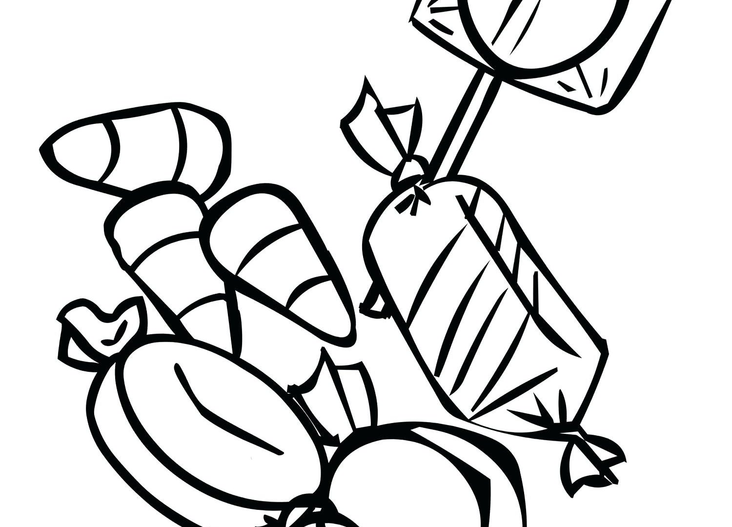 1500x1080 Candy Bar Coloring Pages Printable Peppermint Free Big Cane House