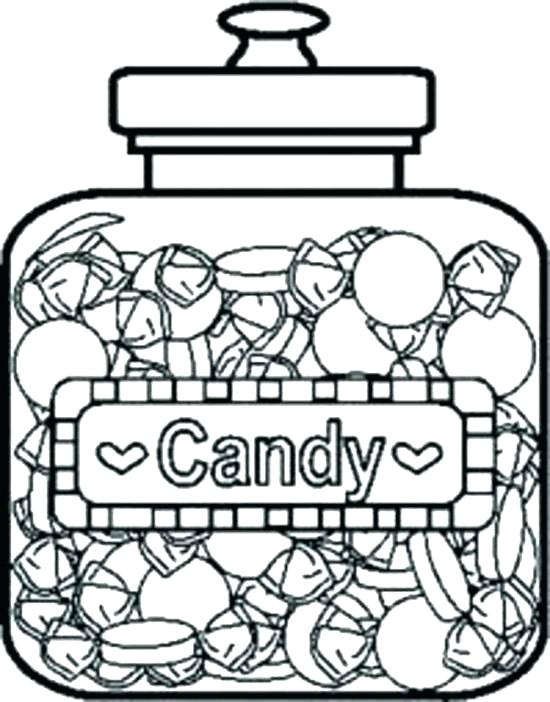 550x702 Chocolate Candy Coloring Pages