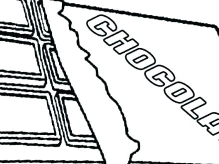 440x330 Candy Bar Coloring Pages Cover Colouring Sketch