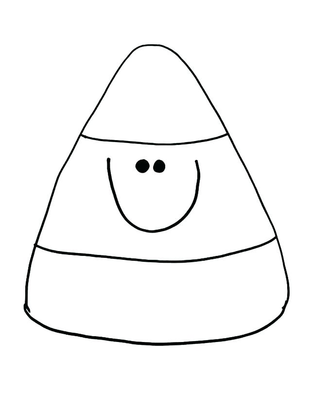 Candy Corn Drawing