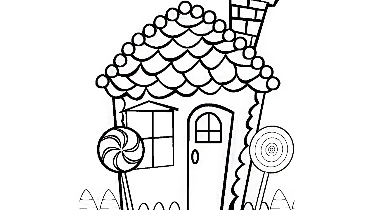 1280x720 Coloring Book Pages Candyland And Chocolate Candy Videos For Kids