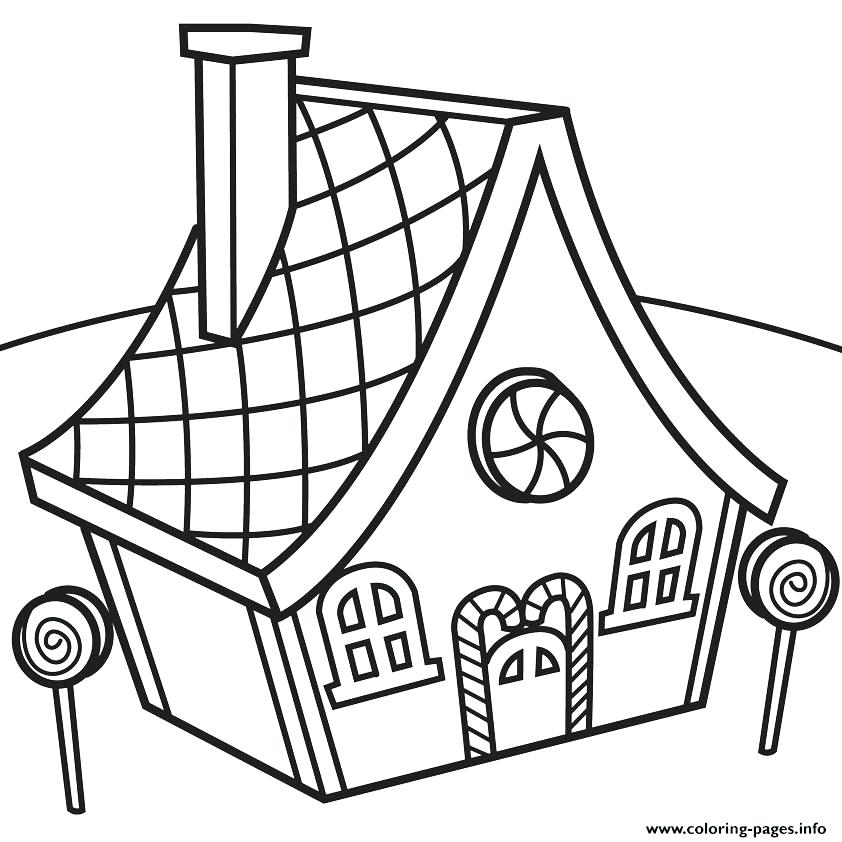 842x842 Hut Drawing Candy For Free Download