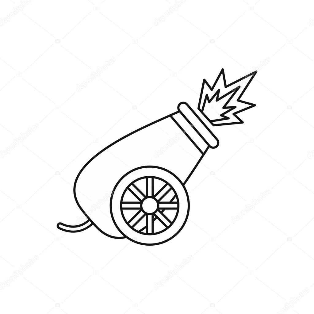 Cannon Drawing