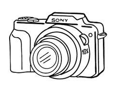 Canon Camera Drawing