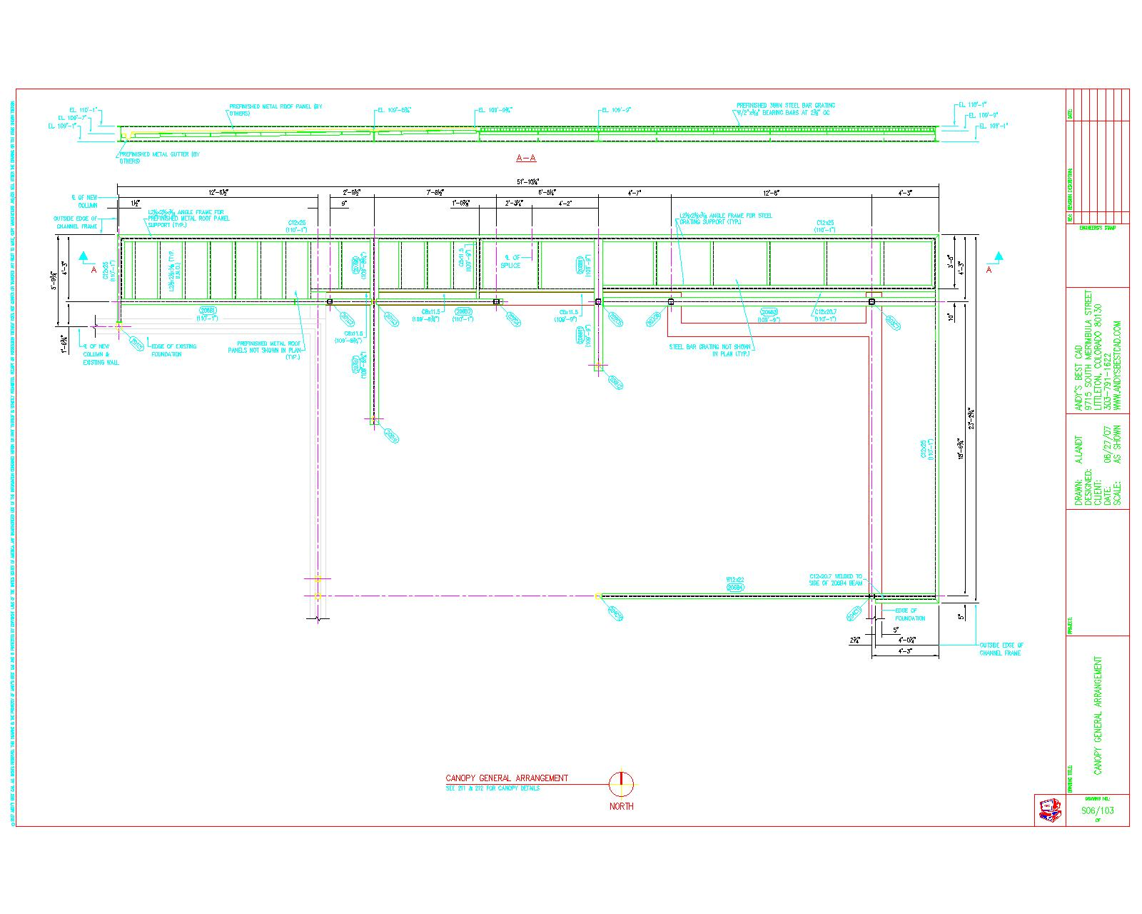 1600x1280 Autocad Structural Steel Detailing Samples