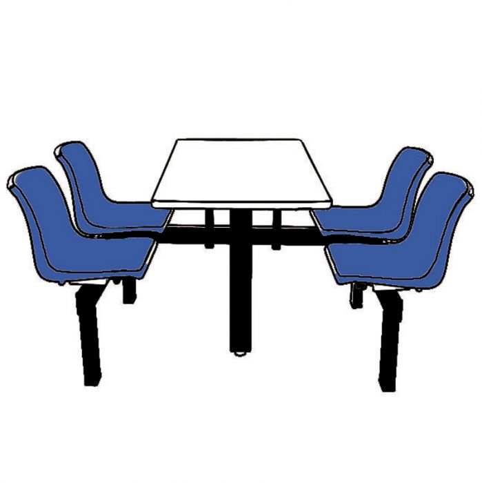 699x700 canteen table and chairs manufacturer of industrial storage