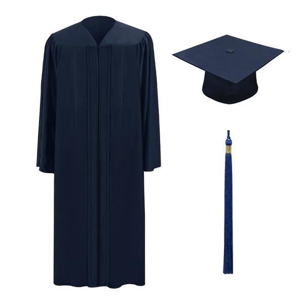 600x600 Navy Cap, Gown Tassel