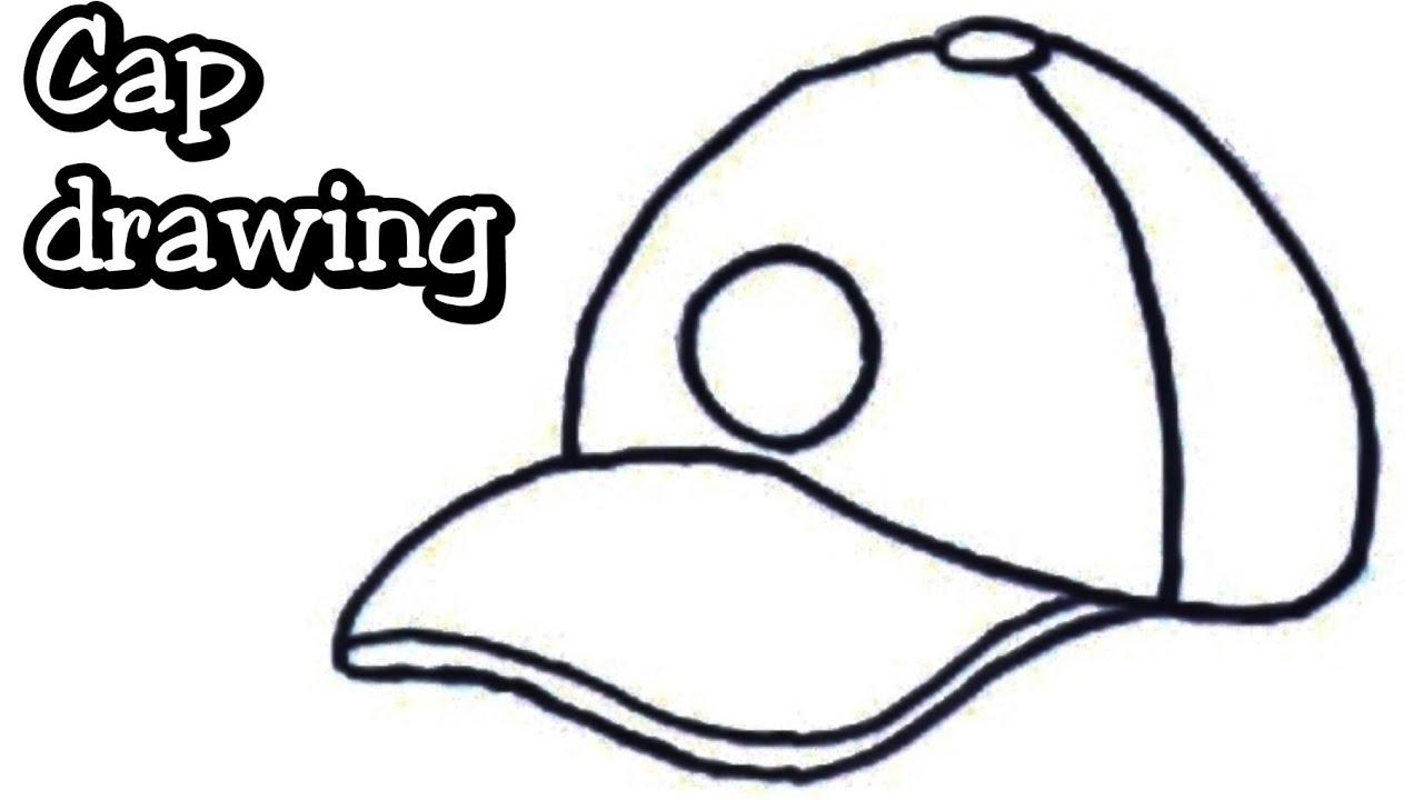 1280x720 Cap Drawing Step